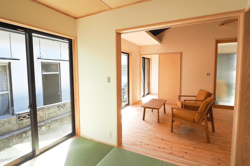 25坪でも広々暮らす平屋の家
